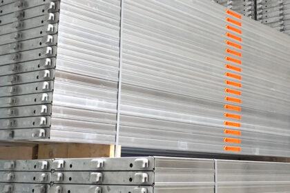 Aluminium-Böden im MJ-Lager